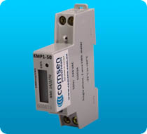C-M1D-K Din-rail mounted Single Pole NMI approved kWh meter