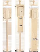 C2 Series Service Pillar (C2-100-1000-500PC)