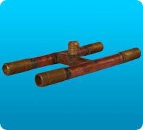 P-WM4W 4 Way Water Manifold